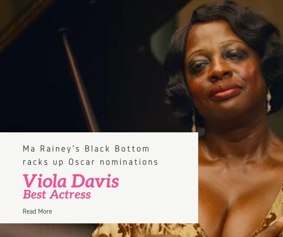 Viola Davis stars in Ma Rainey's Black Bottom