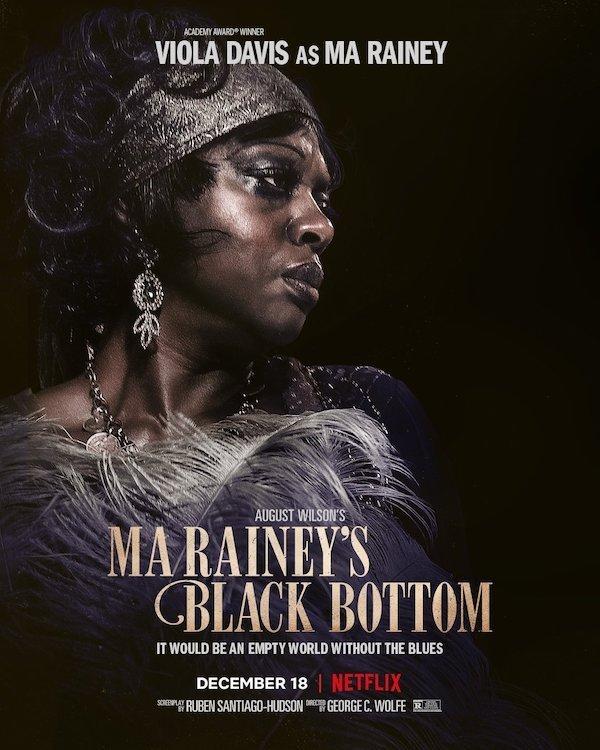 Ma Rainey's Black Bottom Netfilx Film Poster